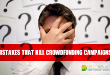 Mistakes that Kill Crowdfunding Campaigns